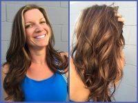 Hair Extension High & low Light