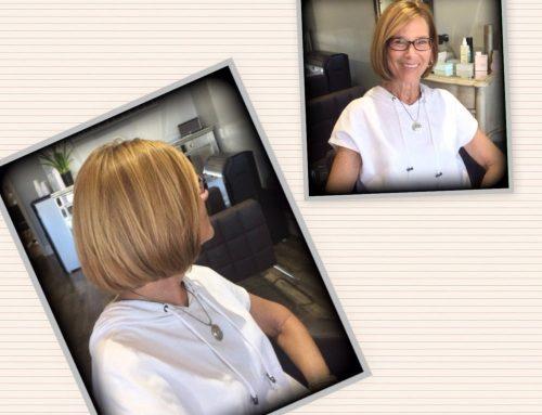 Multi Dimensional Blonde & Bob Haircut