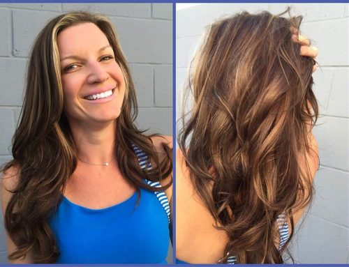 Hair Extensions High & low HighLight