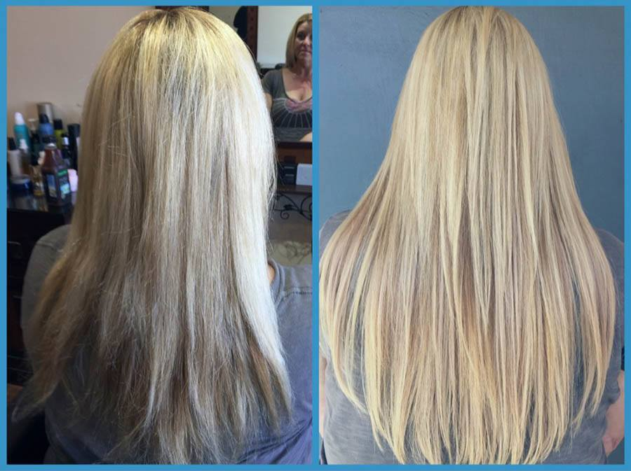 Highlight Hair Extensions Basin Street Hair Salon Newport Beach