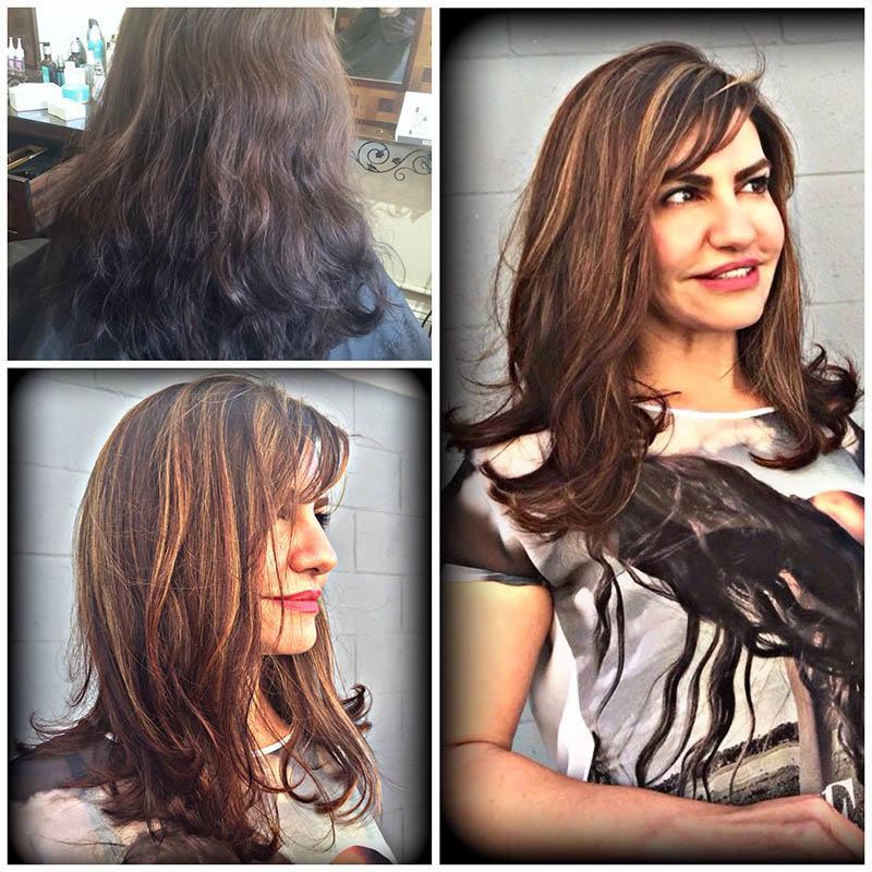 Multi Color Highlights Basin Street Hair Salon Newport Beach