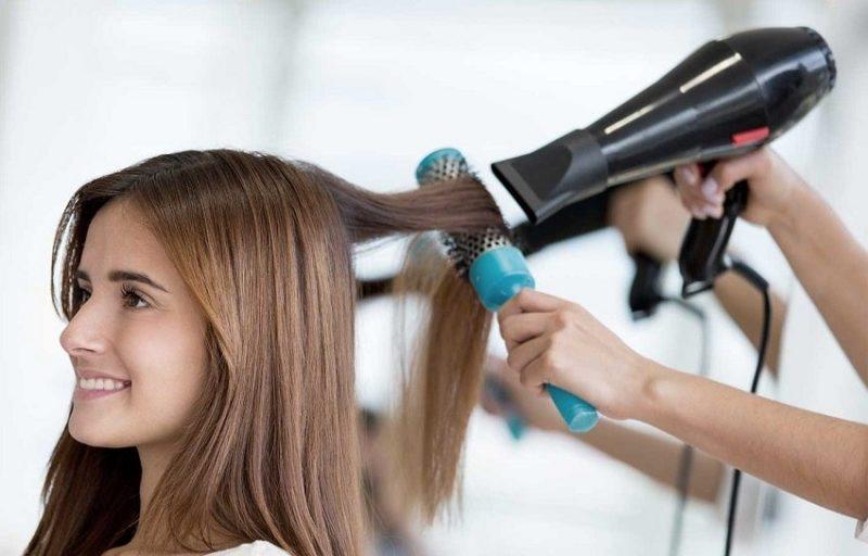 hair blowout