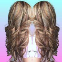 High & low light, hair extensions