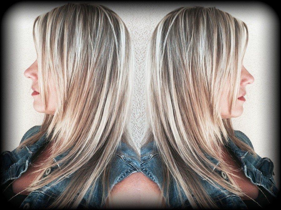 Platinum Blonde Highlights Basin Street Hair Salon Newport Beach