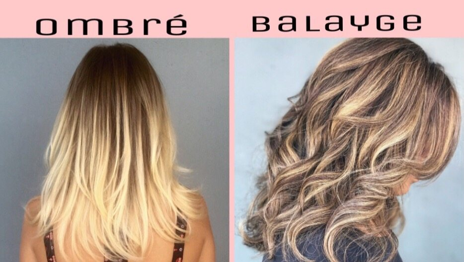 The Difference Between Balayage And Ombre Basin Street Hair Salon