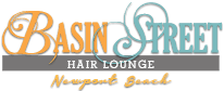 Basin Street Hair Salon Newport Beach Logo